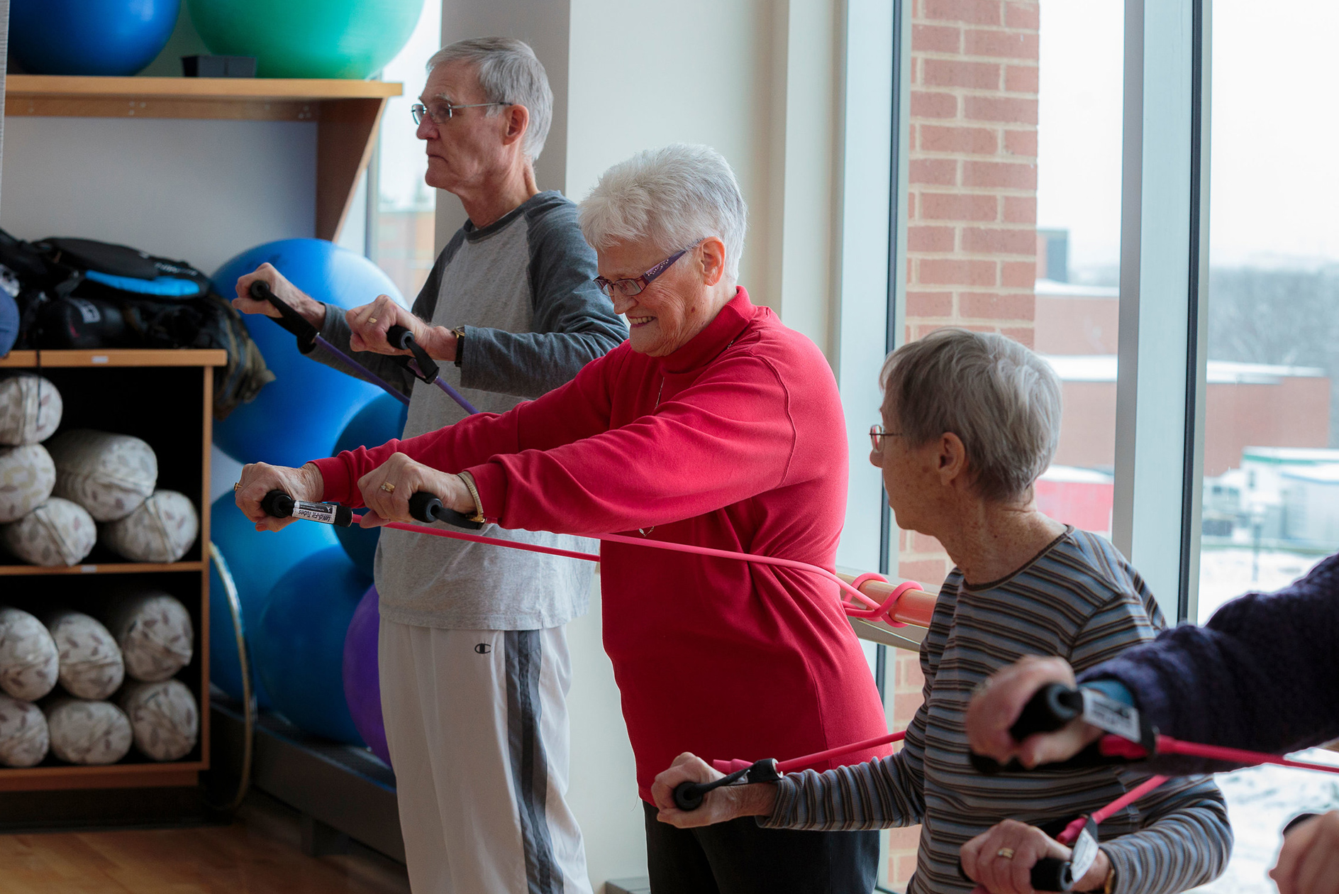 who older adults and physical activity